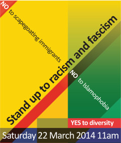 Stand up to racism - download flyer