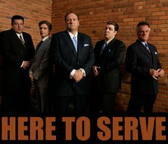 the-sopranos HERE TO SERVE