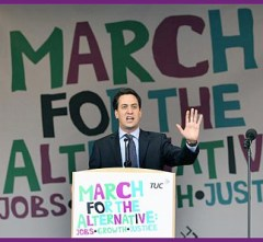 Ed at TUC march