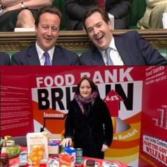 Tories laughing at Food bank Britain