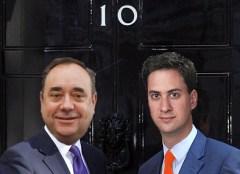 Miliband & Salmond at No10