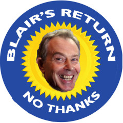BLAIRS RETURN NO THANKS