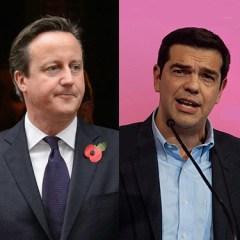 Cameron and Tsipras
