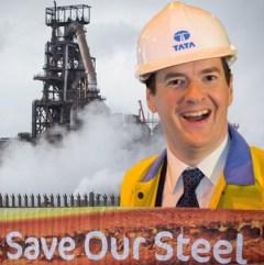 Osborne not saving steel