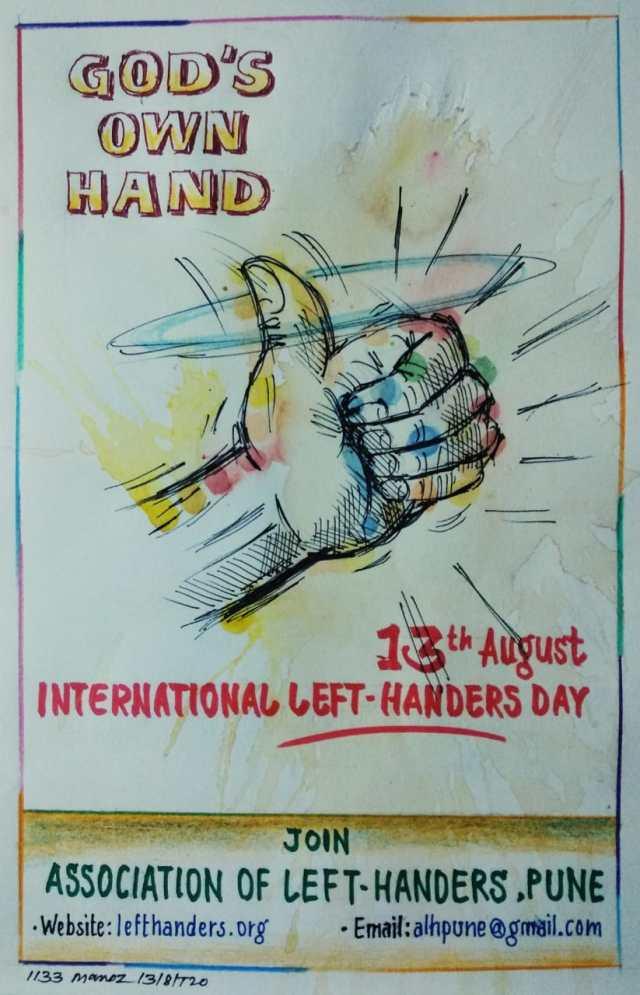 God's Own Hand - International Left-Handers Day