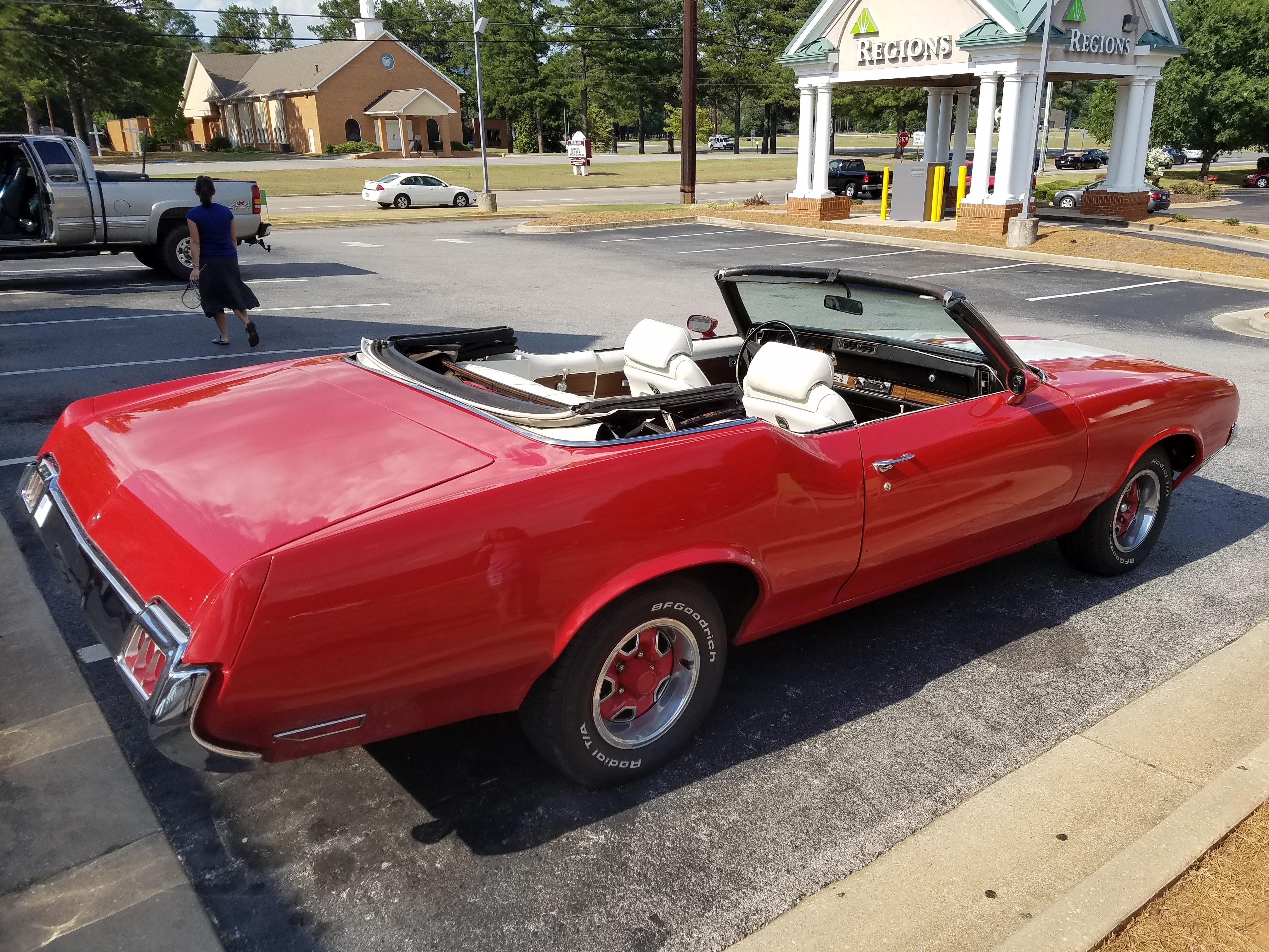 1972 Olds Cutlass Convertible First Drive
