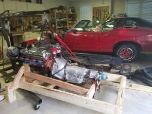 cutlass-455-motor-install