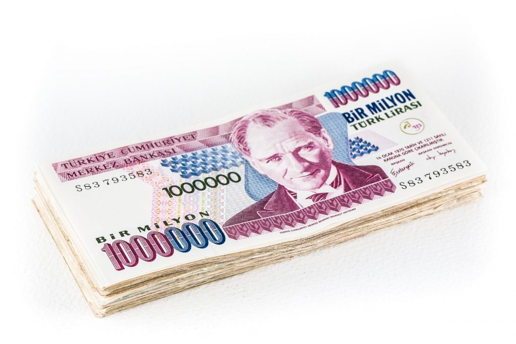 Leftover Currency I Have A 1 Million Turkish Lira Bill