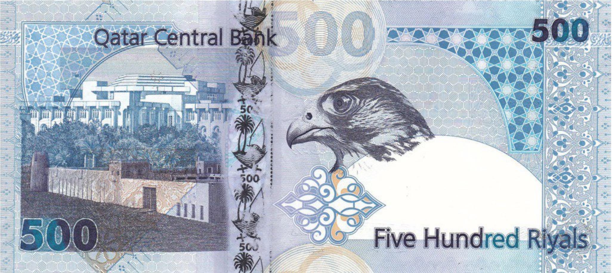 Current Qatari Riyal Banknotes