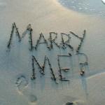 Idées de demande en mariage