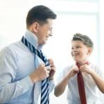 La cravate, le prestige du costume du marié