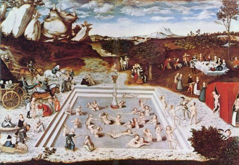 Der Jungbrunnen, 1546, Quest For the Fountain of Youth