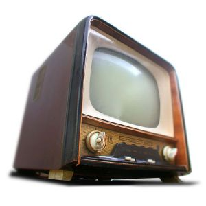 A Hungarian television set from 1959. Image by Takkk