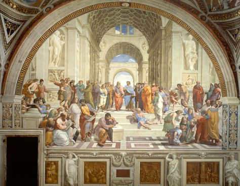 Raphael (1483–1520): Scuola di Atene The School of Athens