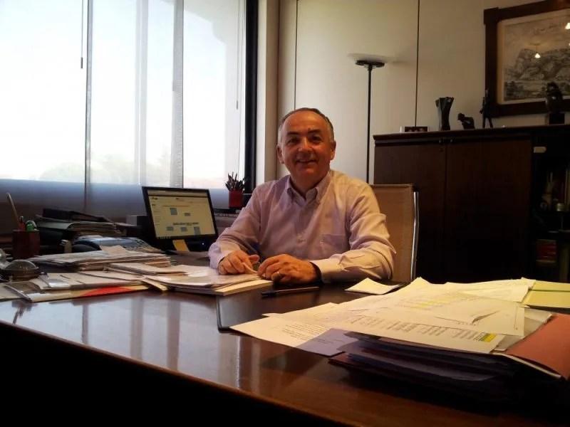 Il presidente di CBR, Giampiero Boschetti