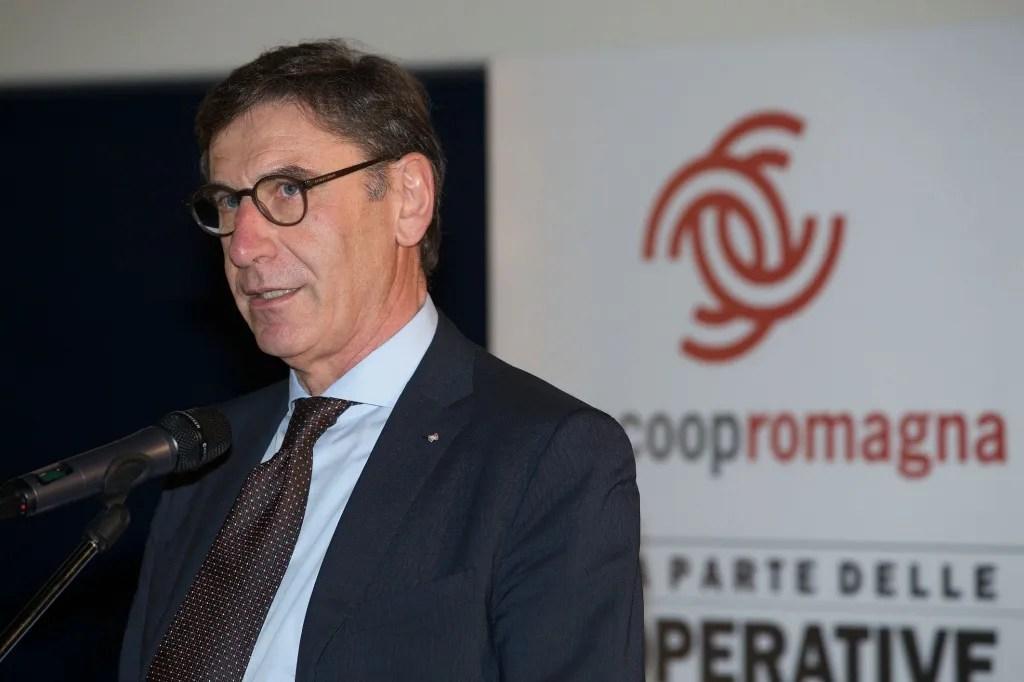 Il presidente di Legacoop nazionale, Mauro Lusetti