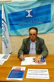 Il presidente di Confcooperative Ravenna Raffaele Gordini