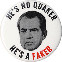Image result for nixon quaker