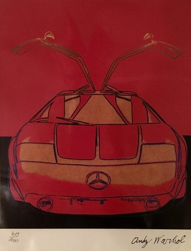 Andy Warhol - Mercedes Benz Gullwing