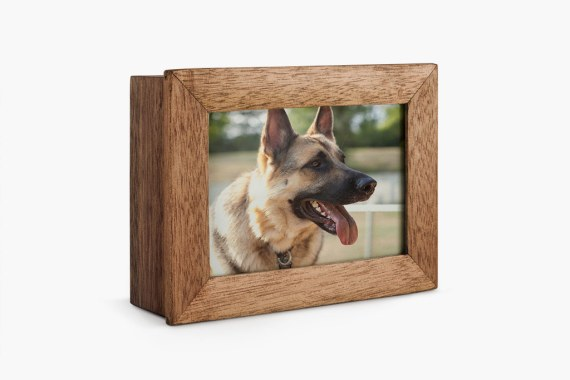 photo frame casket