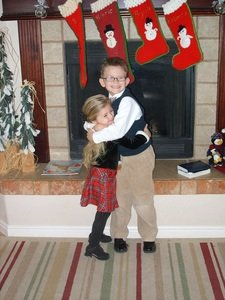 Big Brother & Little Sister Christmas 2011