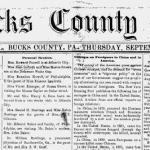 Small-Town Newspapers: Windows to the Past