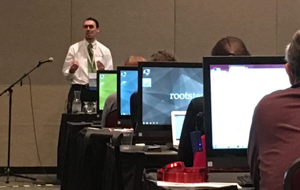 RootsTech 2017 chromosome mapping lab
