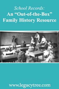 school records for family history research