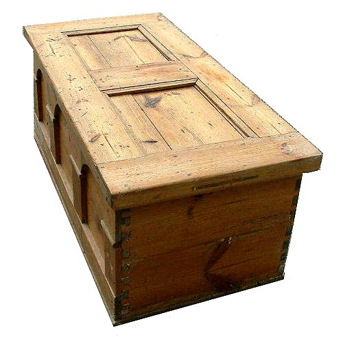 Chest Antique Tool Wooden