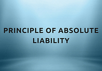 Principle of absolute liability concentrate 1