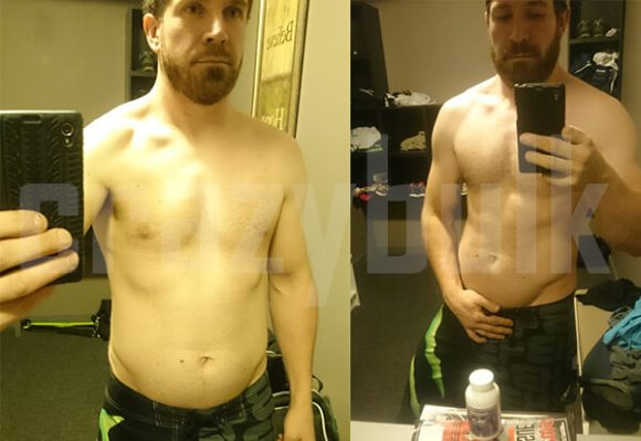 Clenbuterol Results before and after pictures