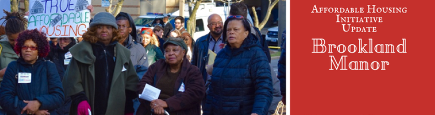 Dispatches from the Affordable Housing Initiative: Brookland Manor