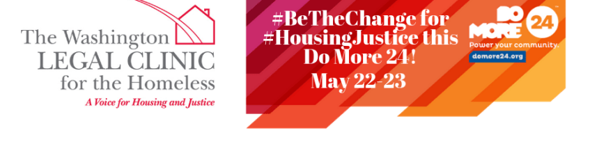 It's #DoMore24 2019 – Be A Voice for Housing and Justice Today!