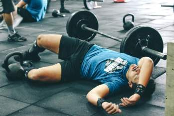 taking rest between exercises