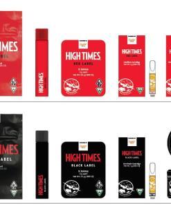 High Times Vape Carts, High Times Vape, High Times Carts, High Times Red Label, High Times Black Label