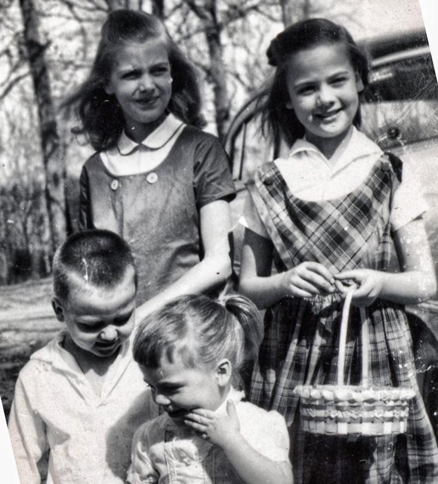 (Clockwise from upper left) Diana, Judy, Kacy, Paul
