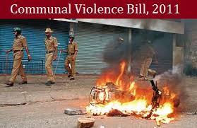 Communal Violence Bill