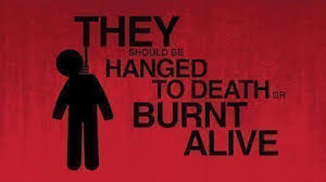 Those Who Burn Women Must Be Hanged Promptly