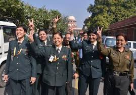 SC Shatter Armour Plated Ceiling By Holding Women Eligible For Command Posts