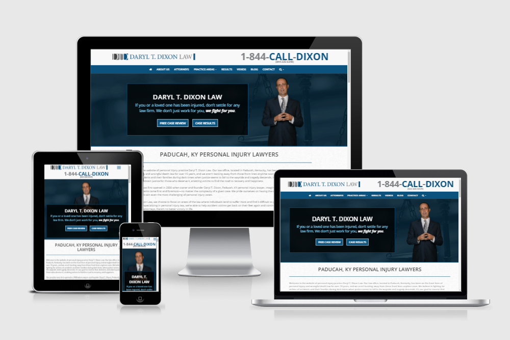 New Client Website: Daryl T. Dixon Law