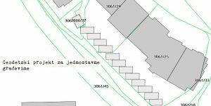 geodetski projekt za jednostavne građevine