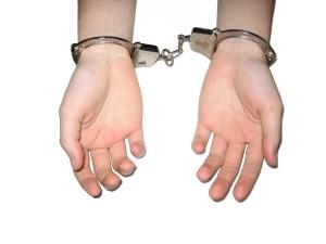 handcuffed handcuffs
