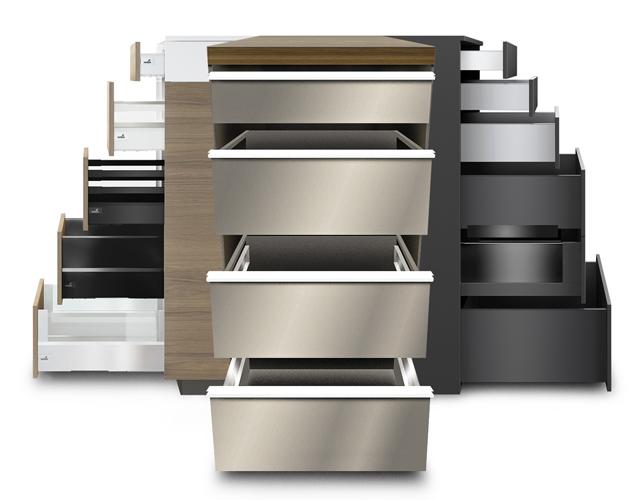 configurer vos tiroirs sur mesure