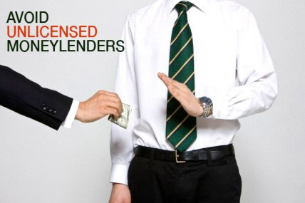 Avoid Illegal Moneylenders