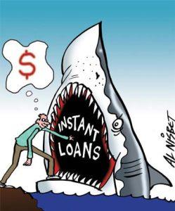 Beware of Loan Sharks