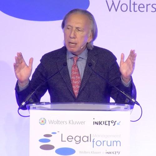 Mark Cohen speaks at Legal Management Forum IV in Madrid