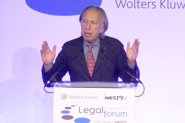 Mark Cohen speaks at Legal Management Forum IV in Madrid