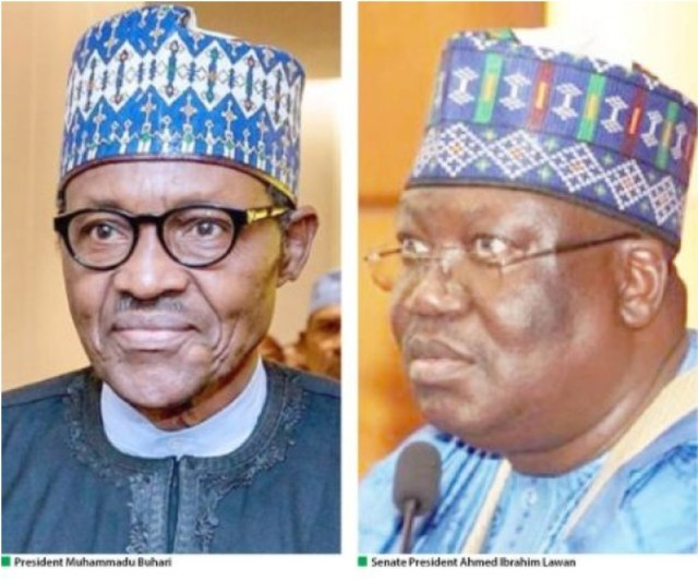 Lawan says there are no plans to elongate Buhari's tenure