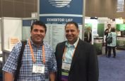 Attorneys Mark Malek and Mark Warzecha attend the 2015 INTA Conference