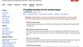 Pervasive Information Architecture principles | Legal Design